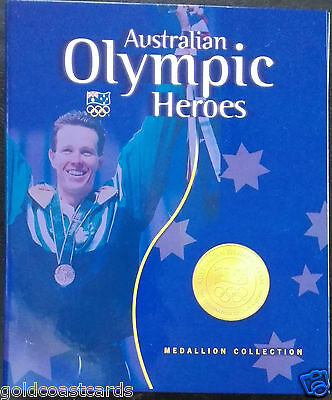 Australian Olympic Heroes Medallion Collection - 12 Medals In Original Folder