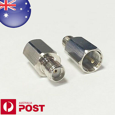 SMA-FME Adapter SMA Jack Female to FME Male Plug Straight RF Connector B1 - Z633
