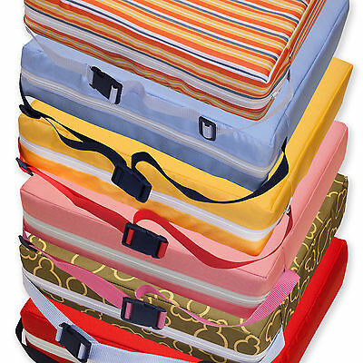 Children Kids Toddler Increased High Chair Booster Seat Pad Safe Cushion