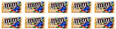 903275 10 x 80.2g PACKETS OF ALMOND M&M'S CHOCOLATE CANDIES GREAT VALUE! USA
