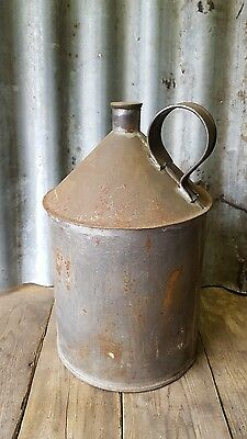 vintage rustic oil or water can decor garden feature
