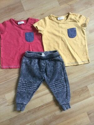 River Island, Next Baby Boys Outfit 0-3 Months Jogging Bottoms, Joggers, Tops