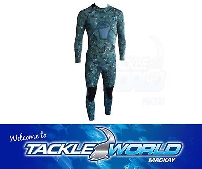 Ocean Hunter Diving / Spearfishing Camo (Chameleon) Core-3 Wetsuit TACKLE WORLD