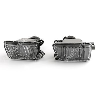 Pair Big Bumper PROJECTOR Clear Fog Light FR VW 1985-92 GOLF II / JETTA MK2 BS2
