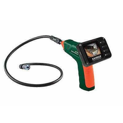 Extech BR100 Video Borescope Inspection Camera, Glare-free and Waterproof