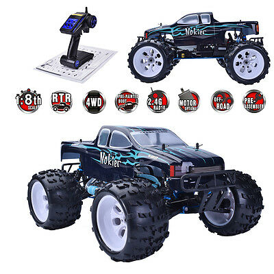 HSP 1/8 Scale RTR 2.4GHz Nitro 2 Speed 4WD RC Off Road Monster Truck 94862