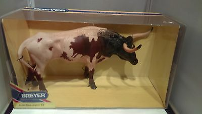 Breyer Animal - Texas Longhorn Bull - Chestnut Pinto - NIB! Must See!