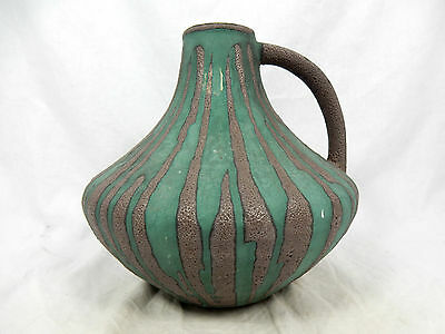 60´s design Carstens pottery Keramik vase in a unusual glaze variation 200