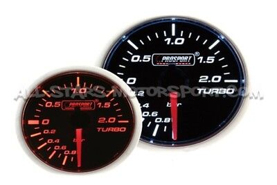 Manometre de Pression de Turbo Mecanique Prosport 52mm Mechanical Boost Gauge
