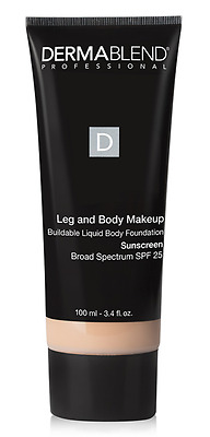 Dermablend Leg And Body Makeup Foundation SPF 25 - Fair Nude 10N -3.4 Fl Oz