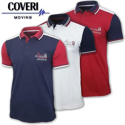 Polo uomo manica corta cotone jersey COVERI MOVING Estate 2017