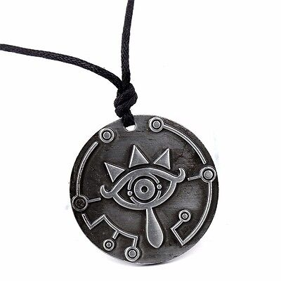 The Legend of Zelda Sheikah Slate Breath of the Wild Pendant Necklace Cosplay