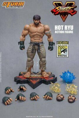 "2017 SDCC Exclusive Street Fighter Storm Collectibles Hot Ryu 7"" Action Figure"