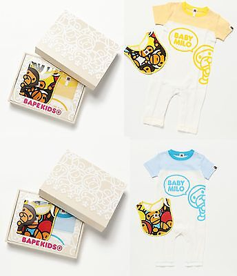 A BATHING APE BAPE KIDS BABY MILO BABY GIFT SET 2 Colors From Japan New