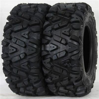 Ocelot Deep Lug 25X10-12 6-Ply Big Hrn Style Tread Tires (Set Of 2) P350