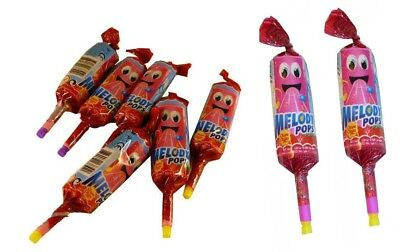 Chupa Chups Melody Pops x 24 Strawberry Bulk Lollies Party Favors Candy Buffet