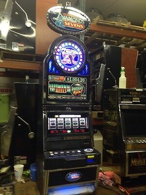 Bally Alpha 9000 Ultimate Diamonds & Sevens Bonus Wheel slot machine