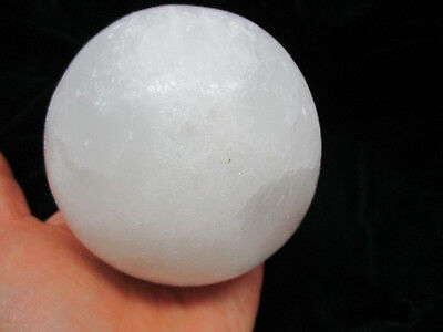 """10"""" 1.6 pounds NATURAL CLEAR QUARTZ CRYSTAL SPHERE BALL HEALING GEMSTONE + stand"""