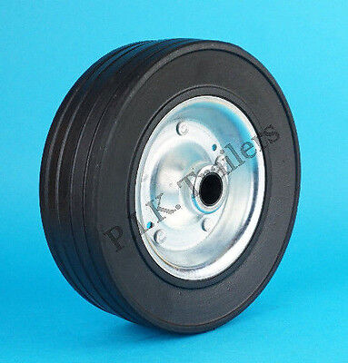 HEAVY DUTY 200mm Replacement Steel Wheel for Trailer Jockey Wheel   #5213