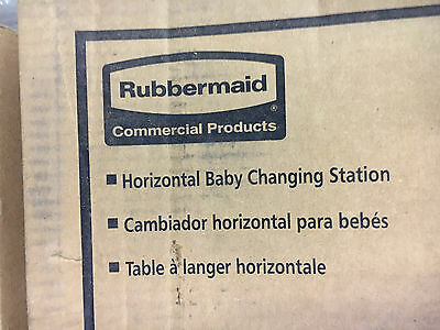 Rubbermaid Horizontal Baby Changing Station # 7818-88 New