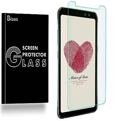 Samsung Galaxy S8 ACTIVE [2-PACK BISEN] Tempered Glass Screen Protector Guard