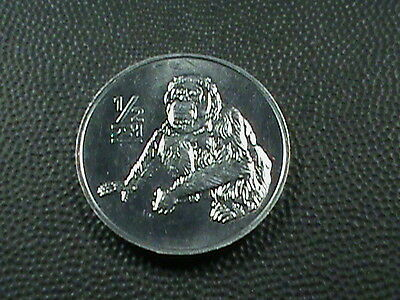 KOREA   1/2  Chon    ORANGUTAN   2002    BRILLIANT  UNCIRCULATED