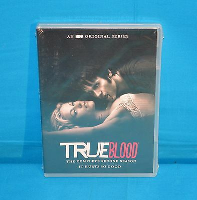 True Blood: The Complete Second Season (DVD, 2015, 5-Disc Set) NEW