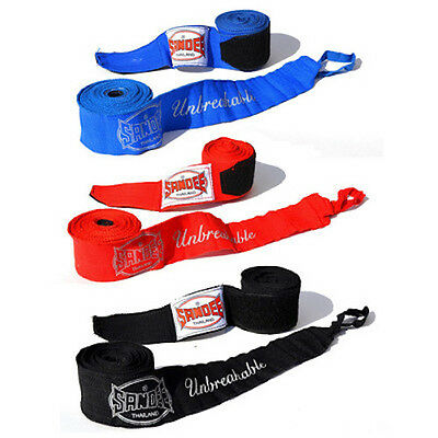 Sandee Hand Wraps 2.5M 5M Red Blue Black Thai Boxing Stretch Wraps Adult Kids