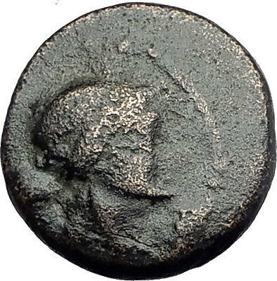 SARDES in Lydia 133BC Authentic Ancient Greek Coin APOLLO & HERCULES CLUB i62701