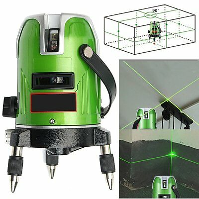 EK-468GJ Green 5 Line 6 Point Laser Level 360 Rotary Line Self-leveling Laser Le