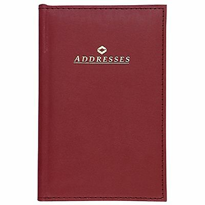 """Mead Telephone & Address Book, 5X7.5"""", Colors Vary"""
