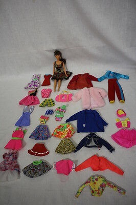 Lot of 31 Tagged Mattel GENUINE BARBIE Doll Clothes, Doll Included! - Mint