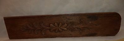 Antique Victorian Side Board  Oak Wood Panel   Architectural Salvaged Panel
