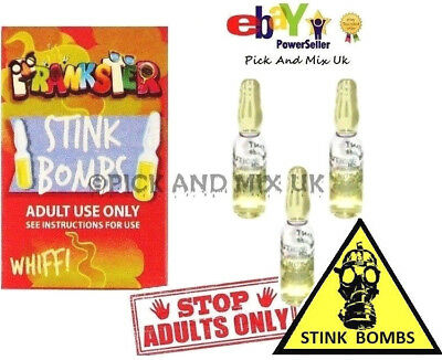 STINK BOMBS ADULTS Smelly  Rotten Eggs Out Door Retro Fun Pranks
