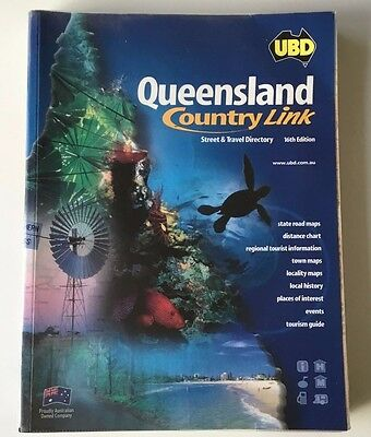 Ubd Queensland Country Link Street & Travel Directory 16Th Edition