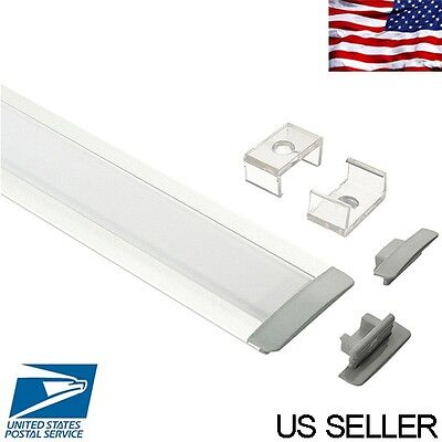 "4' (46"") Aluminum Profile / Channel for LED strip lights recessed mount #20302"