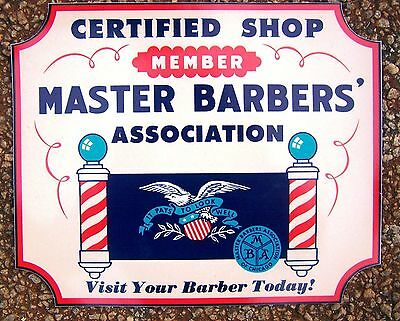Certified Master Barber Decal