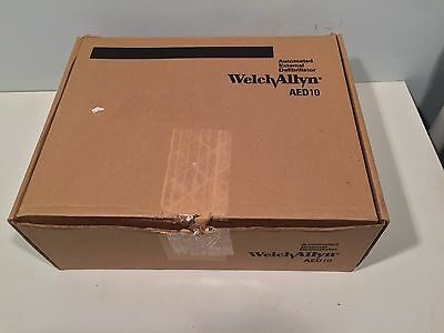 New In Box Welch Allyn AED 10 with New Pads and New Battery