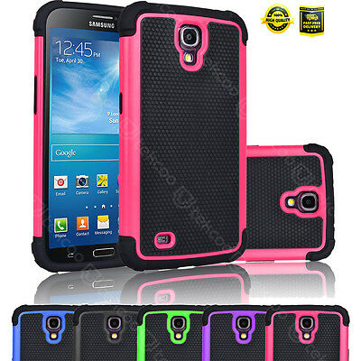 For Samsung Galaxy Mega 6.3 Shockproof Matte Rugged Rubber Hard Case Cover