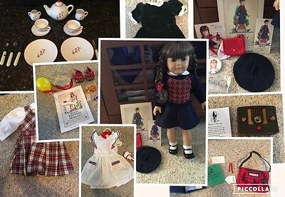 American Girl MOLLY Pleasant Company with Lots of ACCESSORIES