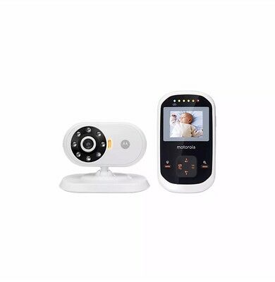 "Motorola MBP18 Digital Wireless Video Baby Monitor 1.8"" Color LCD Night Vision"