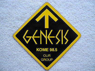 "KOME 98.5 FM - Decal / Sticker - ""GENESIS"" - New - Limited VERY RARE!!"