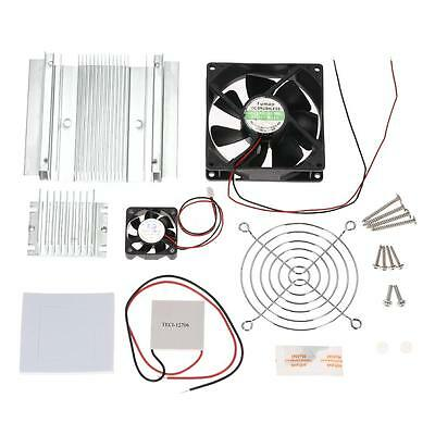 DIY Thermoelectric Peltier Refrigeration Cooling System Kit Cooler Module O6Q7