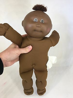 Vintage Cabbage Patch - 1985 - AA Preemie Doll - Black Signature
