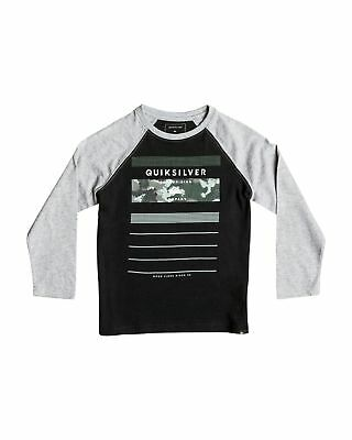 NEW QUIKSILVER™  Boys 2-7 Stringer Long Sleeve T Shirt Boys Children Tops