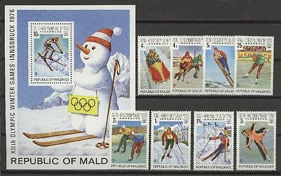 Olympiade 1976, Olympic Games - Malediven - ** MNH