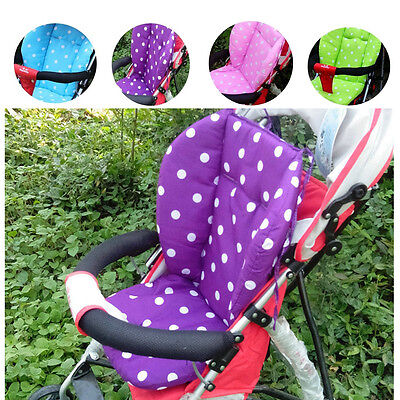 Thick Colorful Baby Infant Stroller Car Seat Pushchair Cushion Cotton Cover Mat