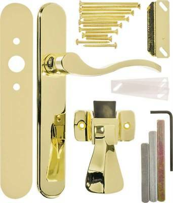 Door Latch Serenade Pol Brass