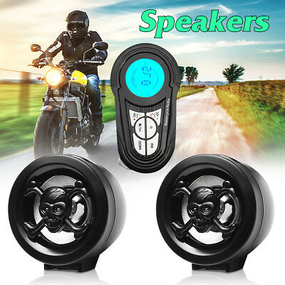 Motorrad Lautsprecher Audio FM-Radio USB Bluetooth MP3 Player Soundsystem Stereo