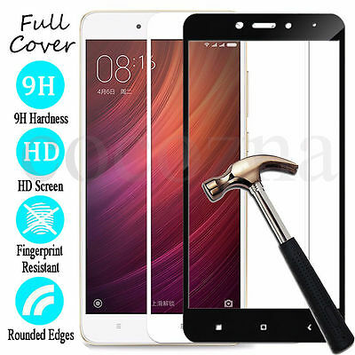 For Xiaomi Redmi Note 4 4X  Full Tempered Glass Screen Protector Global Version